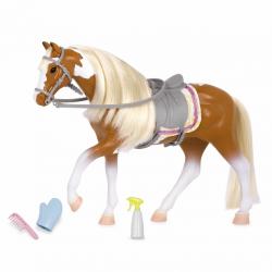 """Лошадь породы """"Американская пятнистая"""" с аксессуарами, фото"""