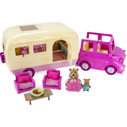 """Набор игровой """"Дом на колёсах"""" с аксессуарами розовый, фото , изображение 2"""
