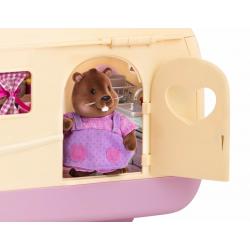 """Набор игровой """"Дом на колёсах"""" с аксессуарами розовый, фото , изображение 4"""