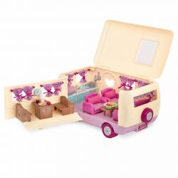 """Набор игровой """"Дом на колёсах"""" с аксессуарами розовый, фото , изображение 7"""