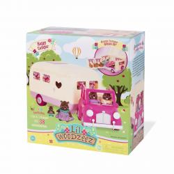 """Набор игровой """"Дом на колёсах"""" с аксессуарами розовый, фото , изображение 10"""