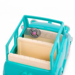 Машина с чемоданом; голубой, фото , изображение 2