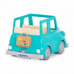 Машина с чемоданом; голубой, фото , изображение 3