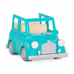 Машина с чемоданом; голубой, фото , изображение 4