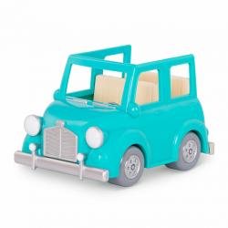 Машина с чемоданом; голубой, фото , изображение 5