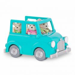 Машина с чемоданом; голубой, фото , изображение 6