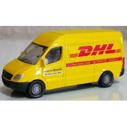 SIKU Почтовый фургон DHL 1085, фото , изображение 3