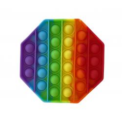"""Игрушка антистресс Pop it """"Вечная пупырка"""" Радуга 01217, фото , изображение 3"""
