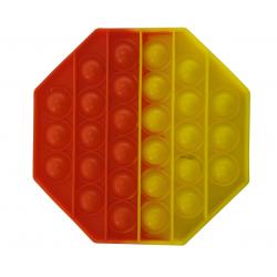 """Игрушка антистресс Pop it """"Вечная пупырка"""" двухцветная 01662, фото , изображение 2"""