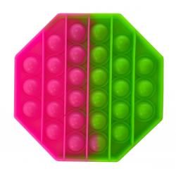 """Игрушка антистресс Pop it """"Вечная пупырка"""" двухцветная 01662, фото , изображение 3"""