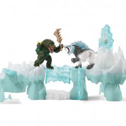 SCHLEICH Нападение на ледяную крепость 42497, фото
