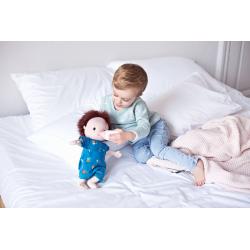 "Кукла ""Ноа"" мягкая с бутылочкой, фото"