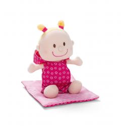 86063 Мягкая куколка в переноске, фото , изображение 4