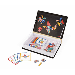 """Книга-игра """"Мозаика в геометрии"""" магнитная, фото"""