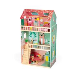 """Домик кукольный """"Happy Day"""" с мебелью, фото , изображение 2"""