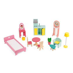 """Домик кукольный """"Happy Day"""" с мебелью, фото , изображение 3"""