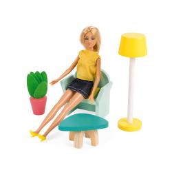 """Домик кукольный """"Happy Day"""" с мебелью, фото , изображение 4"""