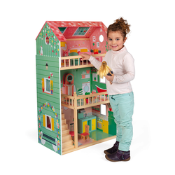 """Домик кукольный """"Happy Day"""" с мебелью, фото , изображение 5"""