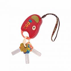 """68601-1 Набор ключиков на брелоке сигнализации; красный """"Fun Keys"""", фото , изображение 2"""