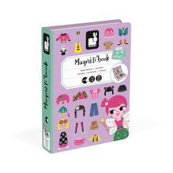 "Книга-игра ""Девочки в одеждах"" магнитная, фото , изображение 6"