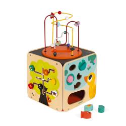 Куб развивающий с комплектом игр: 8 видов активностей, фото , изображение 2