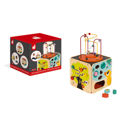Куб развивающий с комплектом игр: 8 видов активностей, фото , изображение 11