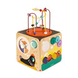 Куб развивающий с комплектом игр: 8 видов активностей, фото , изображение 3