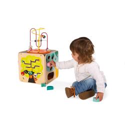 Куб развивающий с комплектом игр: 8 видов активностей, фото , изображение 4