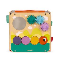 Куб развивающий с комплектом игр: 8 видов активностей, фото , изображение 8
