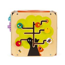 Куб развивающий с комплектом игр: 8 видов активностей, фото , изображение 10