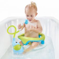 """Игрушка водная душ """"Слоненок""""; голубой, фото , изображение 7"""