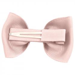 """115-CGC-04 Заколка-зажим """"Bowtie Bow"""" маленькая, коллекция """"Classic Grosgrain"""" светло-розовая, фото , изображение 2"""