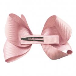 """115-COG-02 Заколка-зажим """"Boutique Bow"""" средняя, коллекция """"Colored Glitter"""" светло-розовая, фото , изображение 2"""