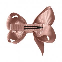 """164-CGC-02 Заколка-зажим """"Boutique Bow"""" средняя, коллекция """"Classic Grosgrain"""", античный лиловый, фото , изображение 2"""