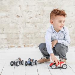483 Игрушечная гоночная машинка, красная, фото