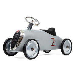 822 Детская машинка Rider, серебристая, фото