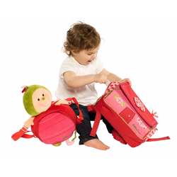 86173 Божья коровка Лиза: школьный рюкзак, фото , изображение 5