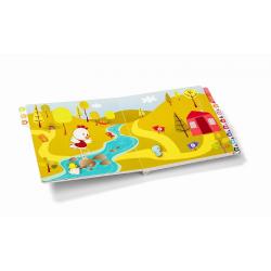 86448 Курочка Офелия: развивающая интерактивная книжка-лабиринт, фото , изображение 11