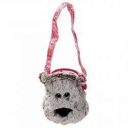 86810 Медвежонок Цезарь: мягкая сумочка через плечо, фото
