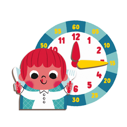 """Книга-игра """"Учим время"""" магнитная, фото , изображение 4"""