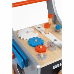 """Тележка-каталка """"Brico'Kids"""" с набором магнитных инструментов: 25 аксессуаров, фото , изображение 3"""