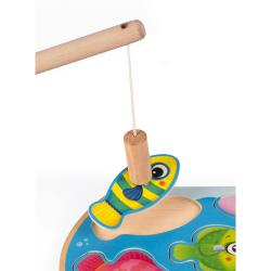 """Пазл """"Рыбалка"""" магнитный: 6 рыбок, 1 удочка, фото , изображение 4"""