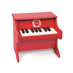 J07622 Пианино (дерево), красное, фото