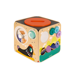 Куб развивающий с комплектом игр: 8 видов активностей, фото , изображение 6