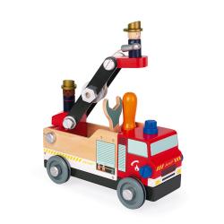 """J06469 Игрушка-конструктор """"Пожарная машина"""", серия """"Brico'Kids"""", фото"""