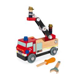 """J06469 Игрушка-конструктор """"Пожарная машина"""", серия """"Brico'Kids"""", фото , изображение 4"""