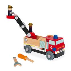 """J06469 Игрушка-конструктор """"Пожарная машина"""", серия """"Brico'Kids"""", фото , изображение 5"""