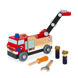 """J06469 Игрушка-конструктор """"Пожарная машина"""", серия """"Brico'Kids"""", фото , изображение 6"""