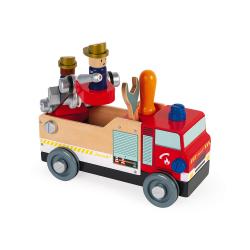 """J06469 Игрушка-конструктор """"Пожарная машина"""", серия """"Brico'Kids"""", фото , изображение 9"""