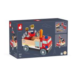 """J06469 Игрушка-конструктор """"Пожарная машина"""", серия """"Brico'Kids"""", фото , изображение 11"""